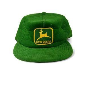 JOHN DEERE Vintage Deadstock Green Corduroy